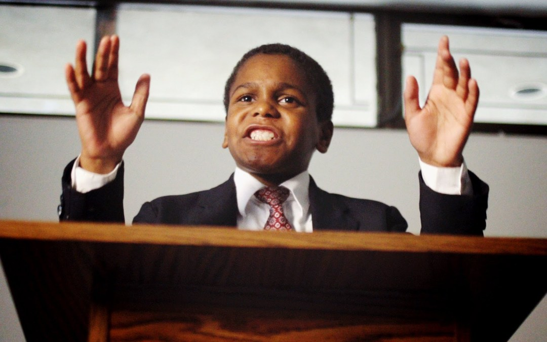 Aren't you a little young to be a preacher?