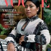 Yalitza Aparicio, the indigenous Star of 'Roma' Lands Cover of Vogue Mexico