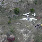A small airplane crashed in Kerrville Texas Killing 6 people on board