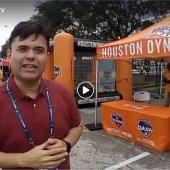 Cobertura en Vivo estadio NRG Houston Texas, CONCACAF Copa Oro, en el Fiesta Futbol antes del partido de Mexico vs Costa RIca, con nuestro Patrocinador el Abogado Alan Garcia !!!  El stand de los Dynamos presente en esta gran copa… S1C9