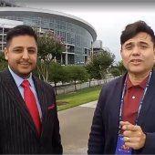 Covertura en Vivo estadio NRG Houston Texas, CONCACAF Copa Oro, en el Fiesta Football antes del partido de Mexico vs Costa RIca, con nuestro Patrocinador el Abogado Alan Garcia !!! En vivo cobertura inicial… S1C5