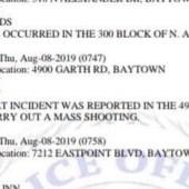 Amenaza de tiroteo para el supermercado Walmart en Baytown TX
