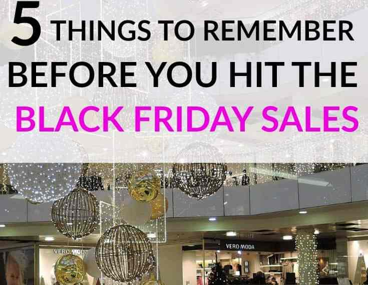 Black Friday Tips - Be sure you're prepared for the Black Friday sales by reading through these tips for making the most of Black Friday Shopping!