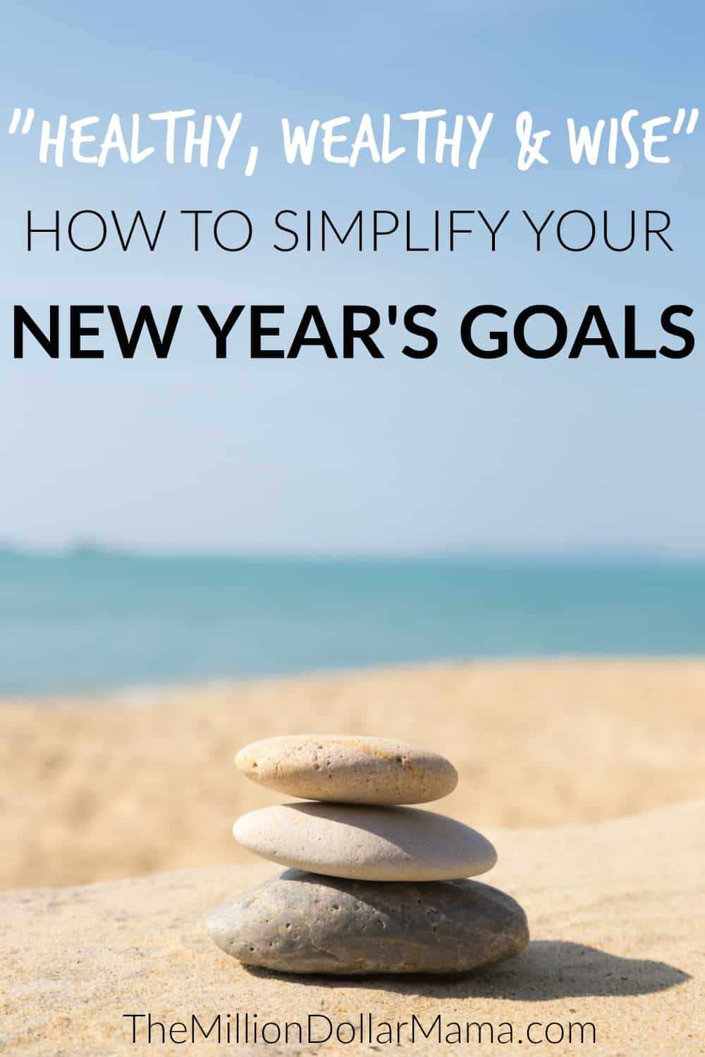 New Year's Resolution Ideas - How to simplify your New Year's Resolutions and become more healthy, wealthy and wise