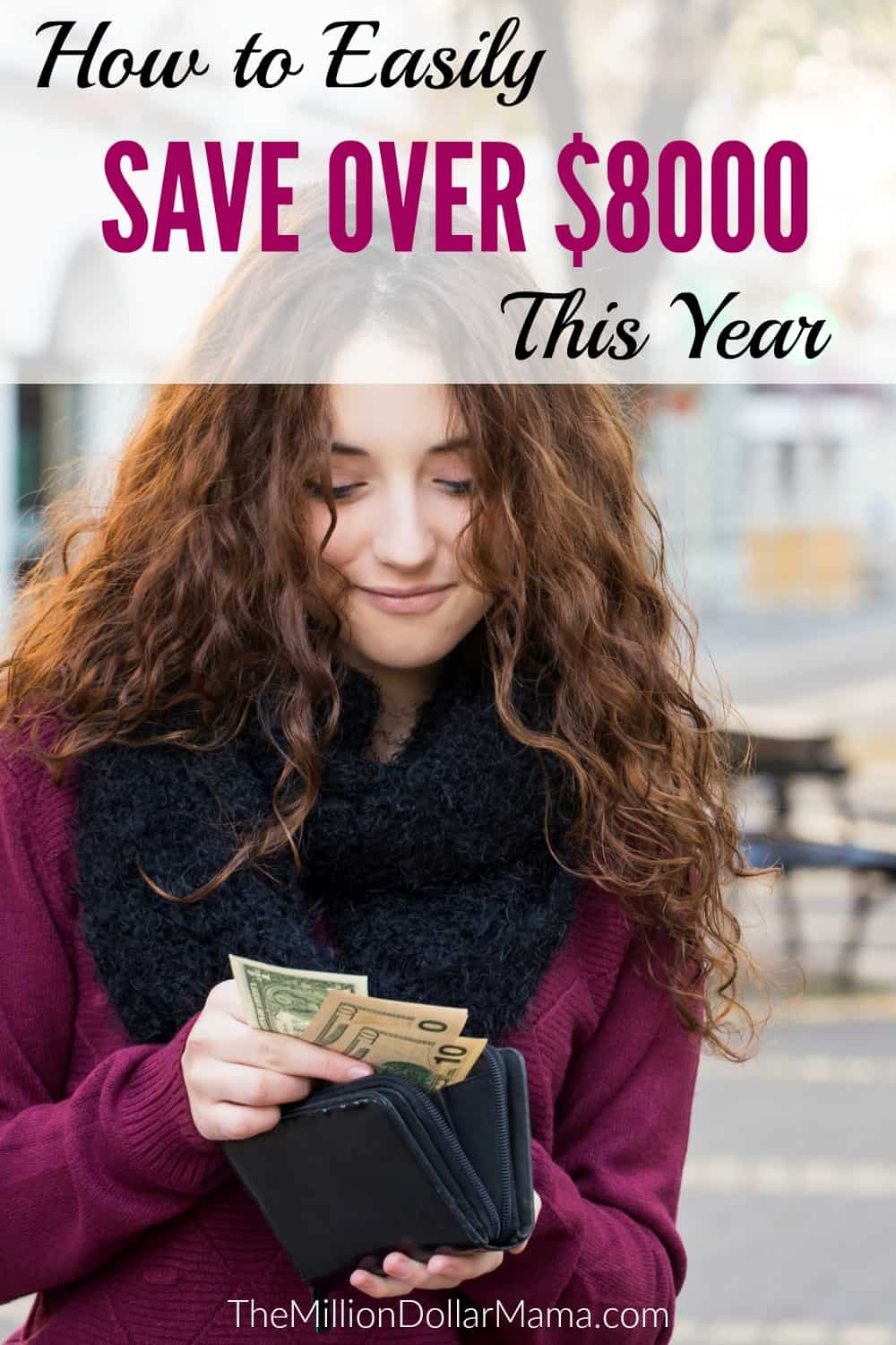 How to easily save money this year. These easy money-saving tips and ideas will help you save thousands of dollars!