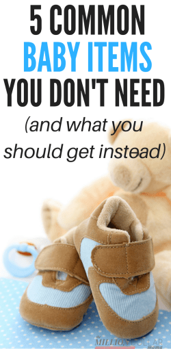 Baby Items You Don't Need