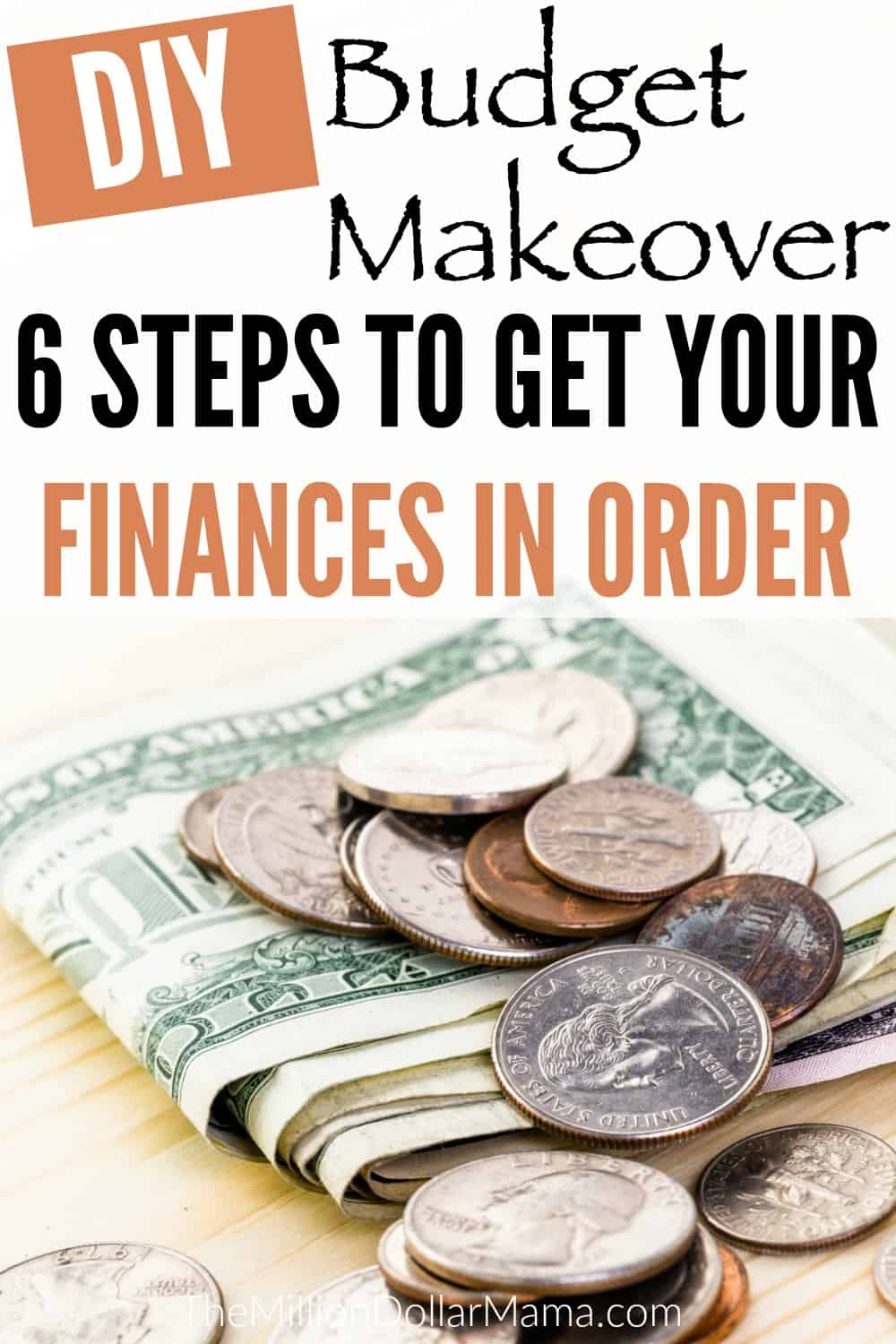 How to make a budget - this DIY budget makeover will help you create a budget and get your finances under control.