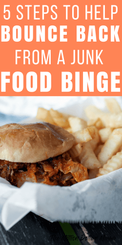 What to do after a junk food binge - if you're overindulged this weekend, then make sure you read 5 things to do to help recover!