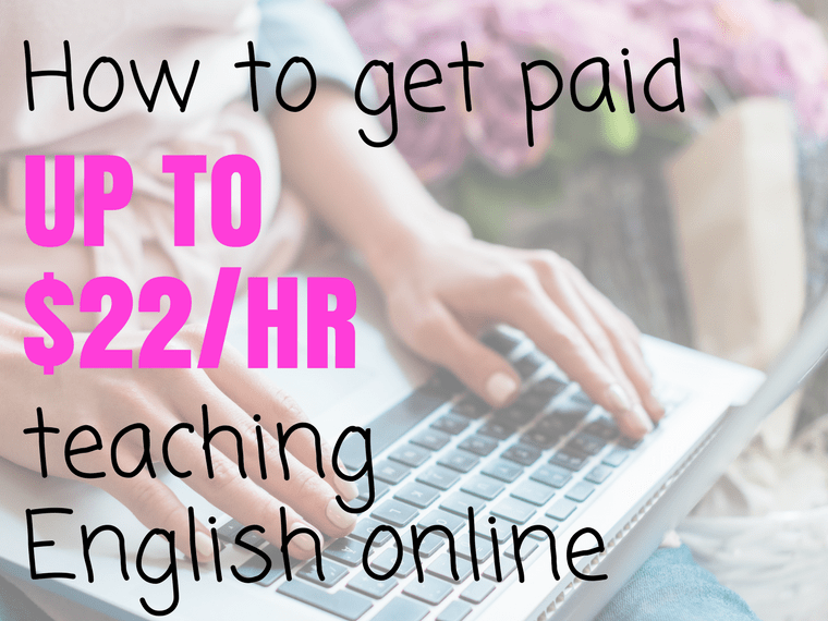 how to get paid for teaching english online
