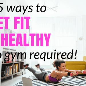 How to Lose Weight and Get Fit Without Going to the Gym