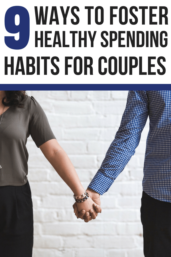 How to foster healthy spending habits in a relationship