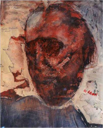 Charles Bukowski portrait