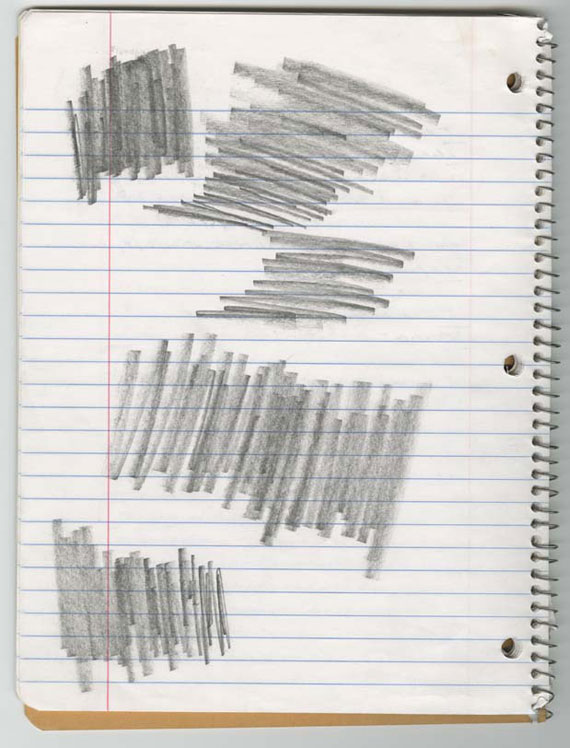 "David Foster Wallace, Page from The Pale King materials, ""Midwesternism"" notebook, undated. Manuscript notebook, 10 1/2 x 8 1/4 in. (26.7 x 21.0 cm) Harry Ransom Center, The University of Texas at Austin. Image used with permission from the David Foster Wallace Literary Trust."