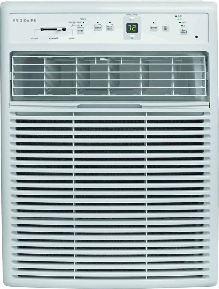 Frigidaire FFRS1022R1 10000 BTU 115-volt Slider:Casement Room Full-Function Remote Control Window Air Conditioner