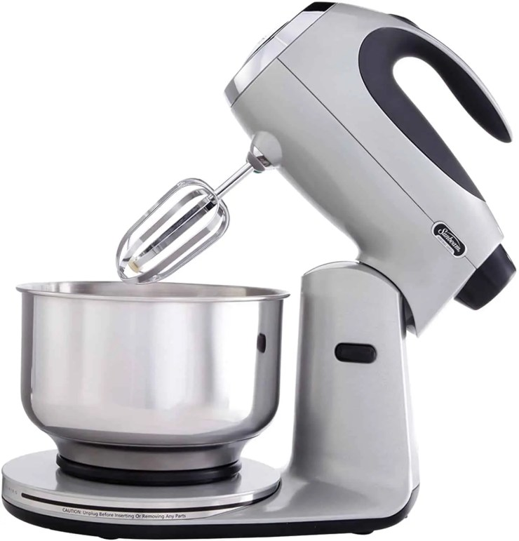 Sunbeam FPSBSM2103 BND Heritage Series 12 Speed 350 watt Stand Mixer Bundle with Bowl