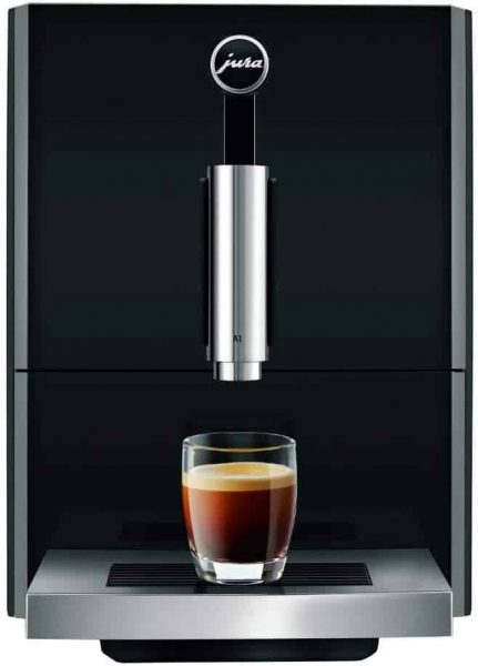 Jura A1 Super Automatic Coffee Machine, 1, Piano Black