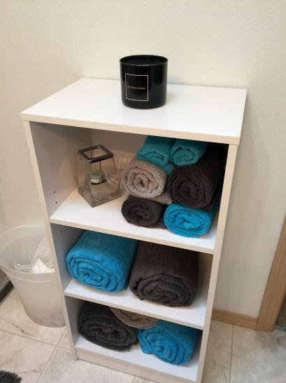 Organized Bathroom