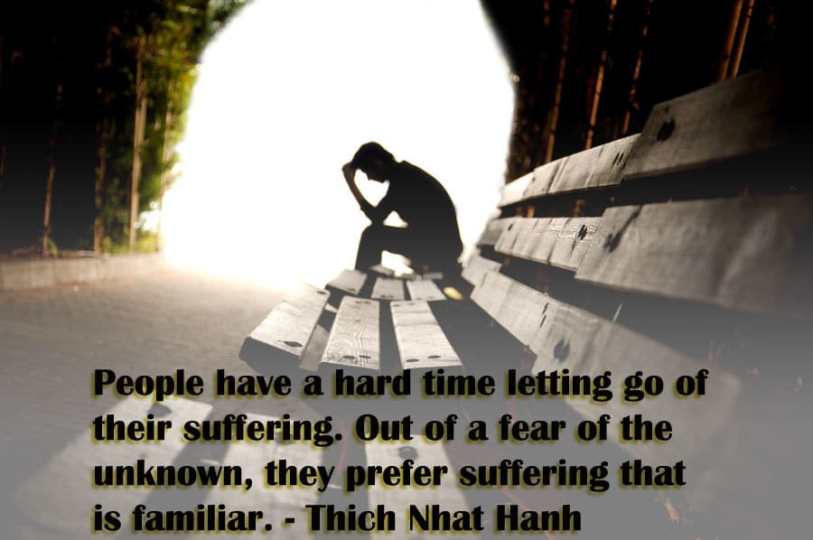 Thich Nhat Hanh Buddhism quote on suffering