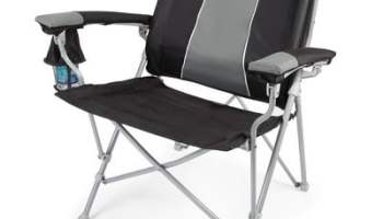 The Lumbar Supporting Portable Chair