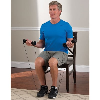 The Seated Arm Toning Trainer