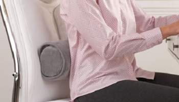 The Heated Lumbar Bolster