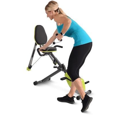 The Arm Toning Recumbent Bicycle 1