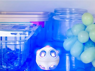 The Mold and Germ Destroying UV Light Spheres