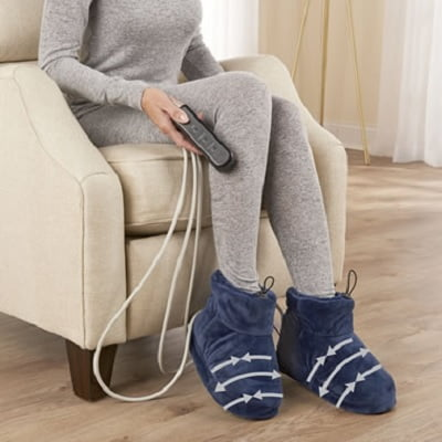 The Massaging Heated Therapy Booties