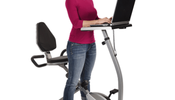 Home-Exercise-Bike-Workstation