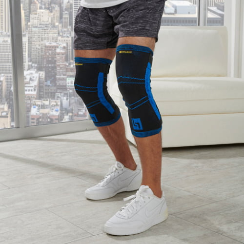 Spring Resistance Knee Strengthening Sleeves