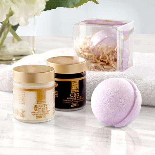 Therapeutic CBD Spa Set
