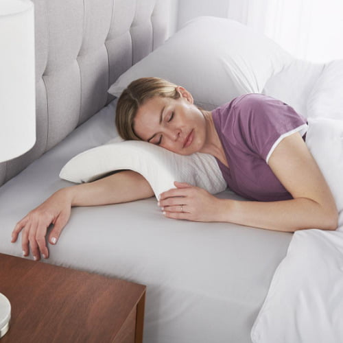 Arched-Memory-Foam-Pillow
