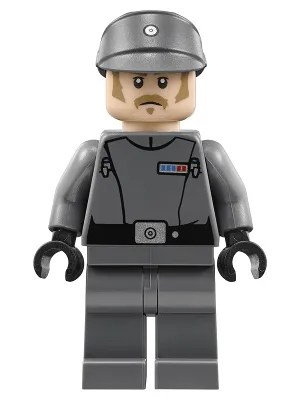 LEGO Star Wars Imperial Recruitment Officer Minifigure 75207 Mini Fig