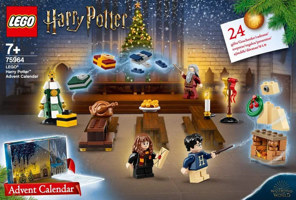 Lego-75964-Harry Potter 2019 Advent Calendar-New in Sealed Box-Limited Edition