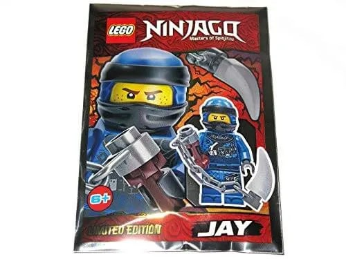 Lego Ninjago Jay 4 Minfigure Promo Foil Pack Set 891946 The Minifigure Store Authorised Lego Retailer