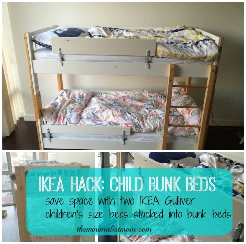 cheaper 1d73c 20ca5 Toddler Size Bunk Beds: Space Saving With Kids - the ...