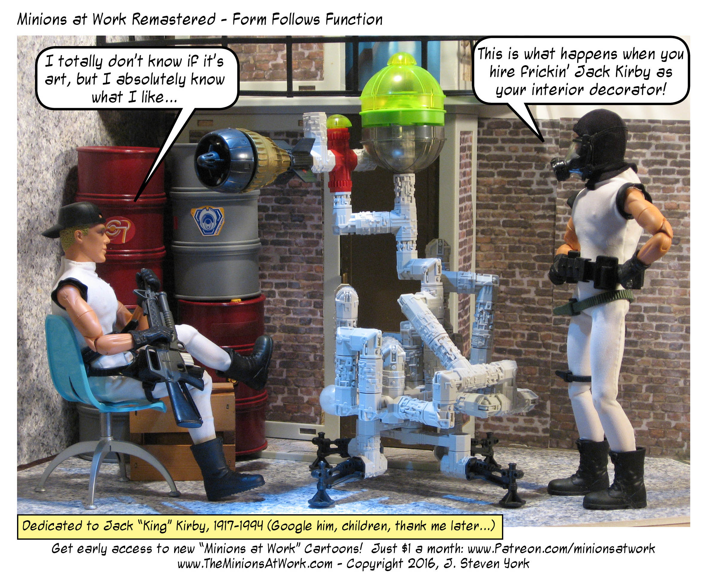 """""""It is still totally better than hiring Rob Liefeld as your chiropractor."""""""