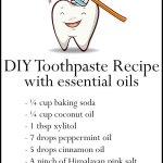 DIY Essential Oil Toothpaste Recipe for Healthy Teeth & Gums