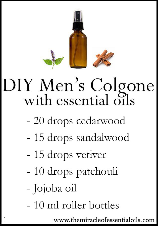 Diy Essential Oil Men S Cologne The Miracle Of Essential