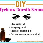 DIY Eyebrow Growth Serum for Thick, Full Eyebrows
