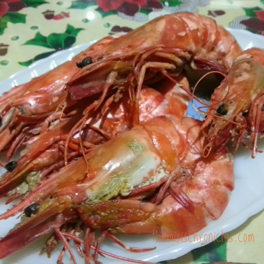 shrimp for the new year
