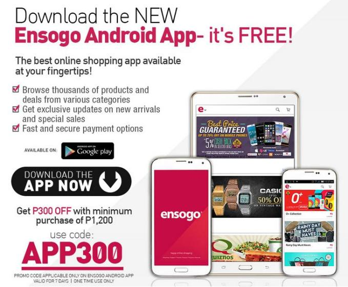 ensogo android app