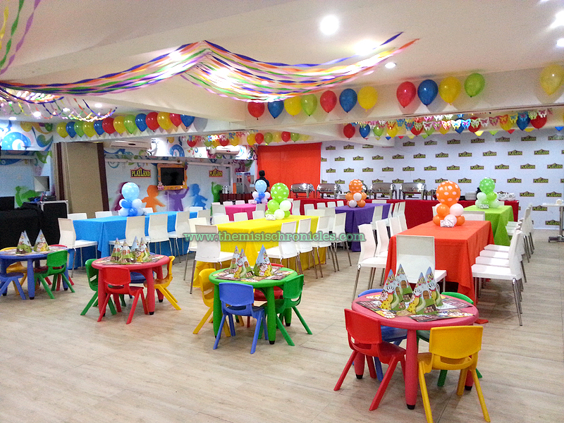 Kiddie party venue playland party place at fisher mall quezon city the misis chronicles - Images of kiddies decorated room ...