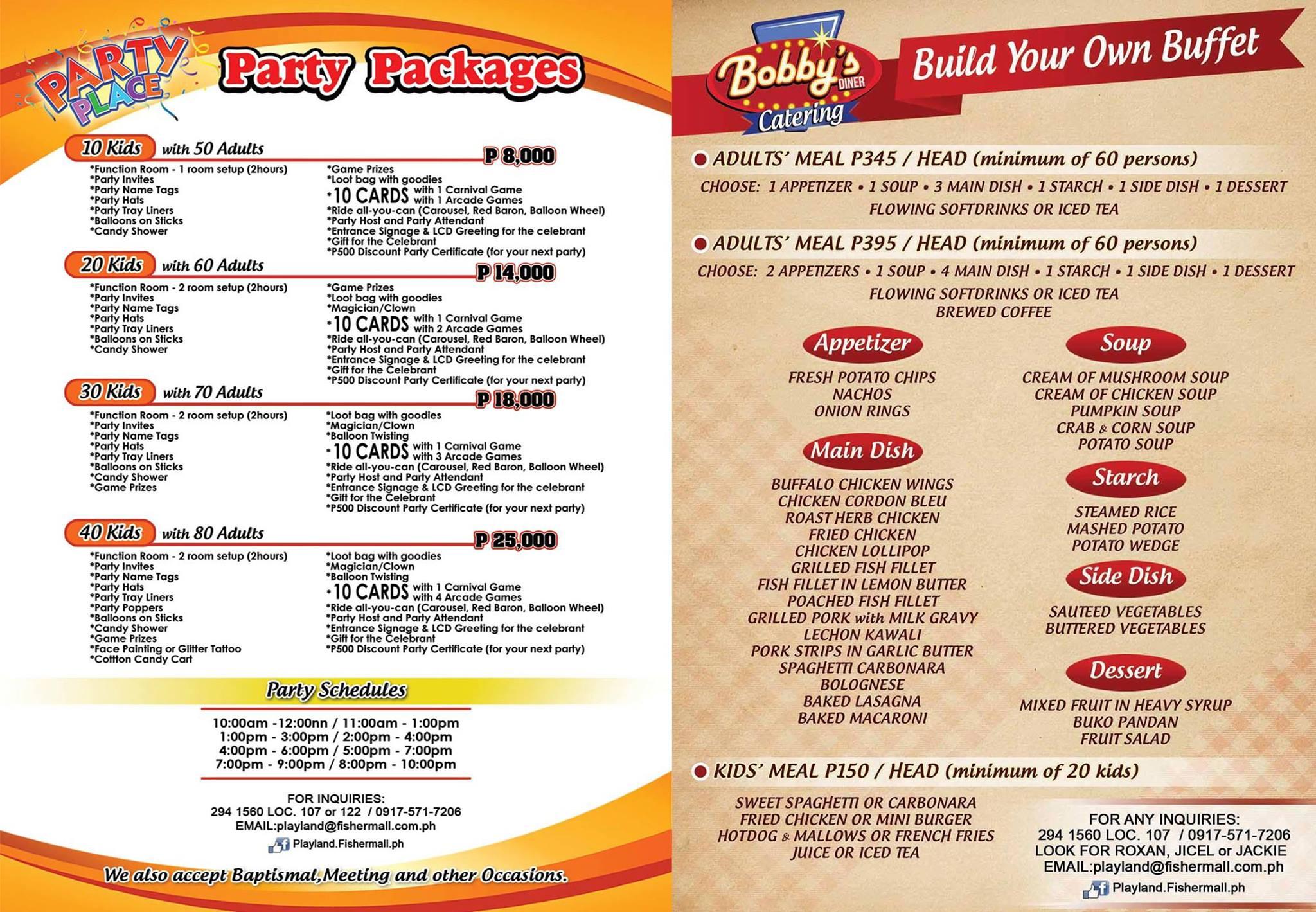 Price Cakes Goldilocks Birthday List