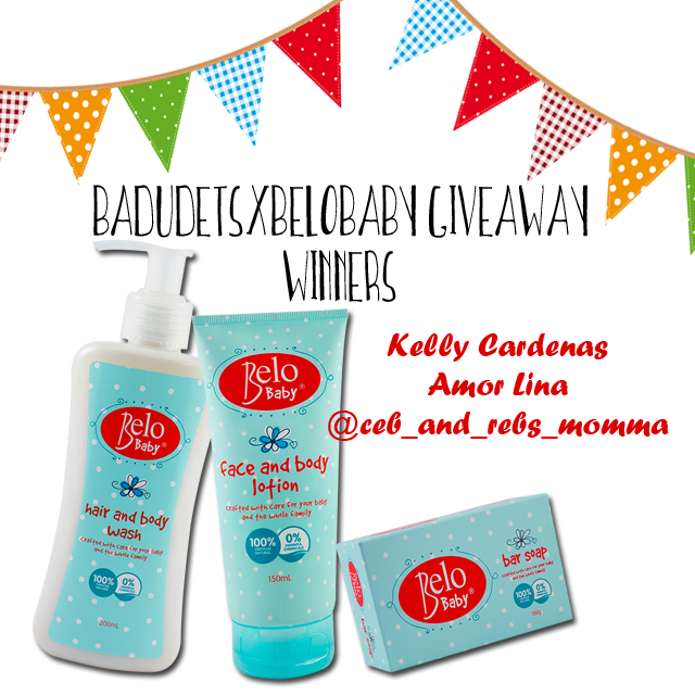 belo baby giveaway winners
