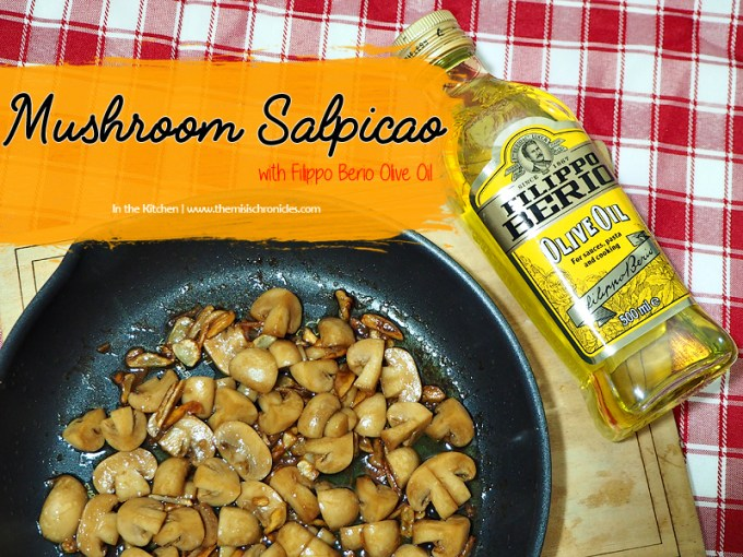 mushroom salpicao recipe