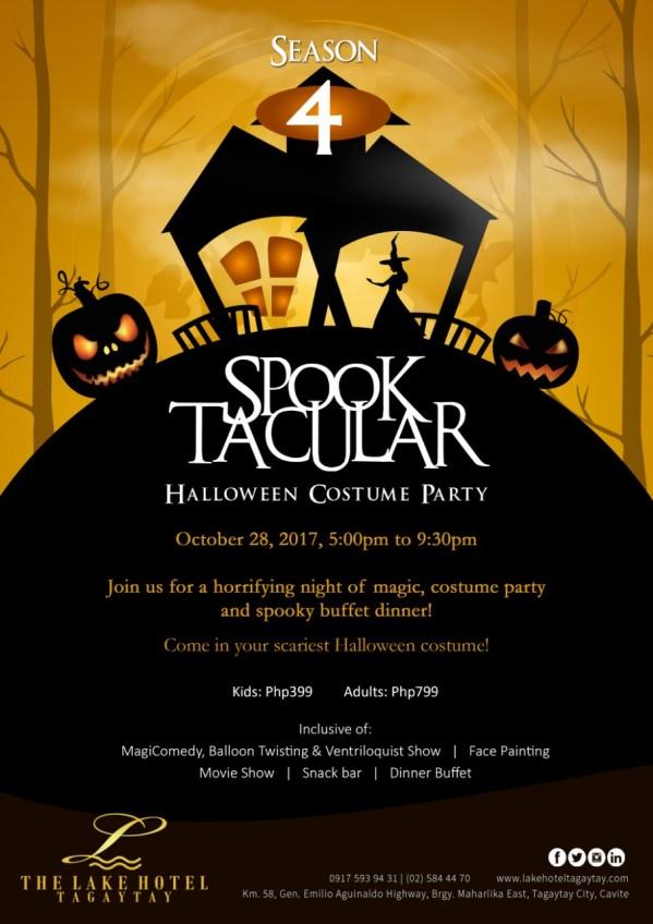 lake hotel tagaytay halloween event 2017