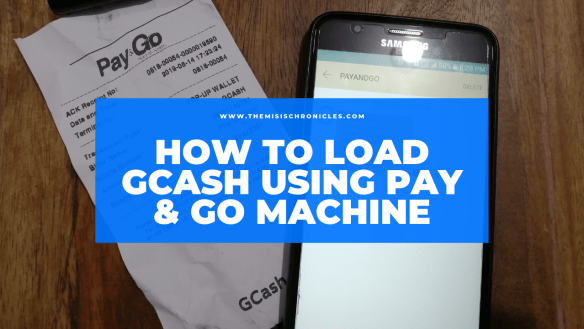 Cash And Go >> How To Cash In Your Gcash Using Pay Go Machine The Misis