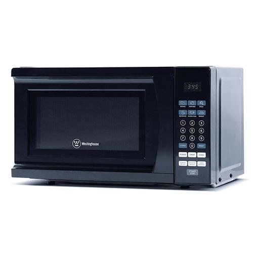 westinghouse 700 watt microwave oven black