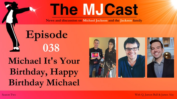 Episode 038 - Michael It's Your Birthday, Happy Birthday Michael Show Art